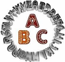 Ububiko Coupe-Biscuits Lettres De L'Alphabet