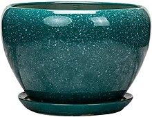 UimimiU Pot de fleur en céramique Grand planteur