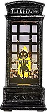 Uing Halloween Lanterne Flamme Bougeoir Lampe À