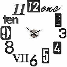 UMBRA Numbra Clock. Horloge murale silencieuse