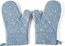 UN BARBECUE Gants, 2pcs Gant à micro-ondes Coton