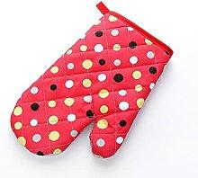 UN BARBECUE gants, micro-ondes gant gant coton