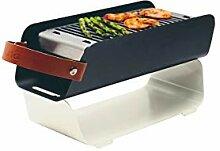 Una Barbecue de table portable au charbon de bois