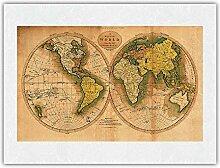 Une Carte du Monde par Les Meilleures autorités -