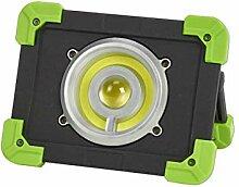 Unitec Projecteur LED en aluminium Vert 20 W