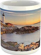 United States Mug, Cape Elizabeth Maine River