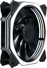 UOEIDOSB 12 0mm CPU Glacière RVB Fan 12V Case
