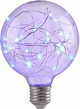 Uonlytech conduit ampoules étoilées avec