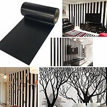 UOOOM 10m x 10cm Noir Washi Tape Ruban Décoration