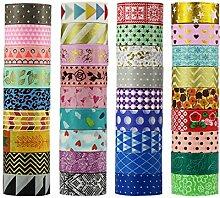 UOOOM Multi-pattern Washi Tape Ruban Adhésif