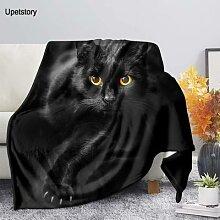 Upetstory – couverture polaire imprimée chat