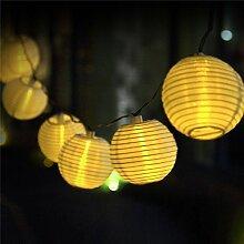 Uping Guirlande Lumineuse Lampion/Lanterne Solaire