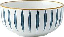 UPKOCH 1 bol à riz en céramique de style