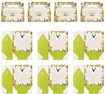 UPKOCH 10 Pièces Boîtes Papier Cupcake Floral