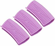 UPKOCH 3Pcs Silicone Pincer Mitaines Mini Four