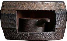 UPKOCH Bouilloire en céramique pour théière