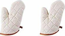 UPKOCH gants coton tissu résistant à la chaleur