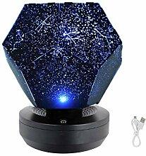 USB Star Projector LED Night Light Galaxy