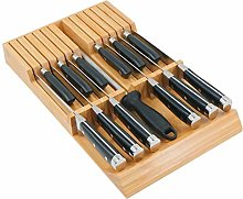 Utoplike Bloc de couteaux de cuisine en bambou à