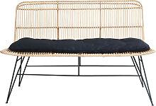 Uyuni - Banc design en rotin