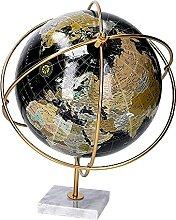 Vacchetti 1870080000 Globe terrestre en métal,