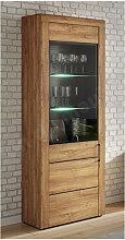 Vaisselier en bois mélaminé, 1 porte, 6 niches,