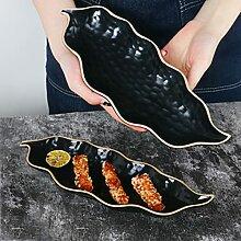Vaisselle en céramique irrégulière japonaise