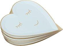 Vaisselle en papier, assiette en papier vaisselle