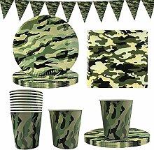 Vaisselle Militaire Camouflage, FANDE Vaisselle