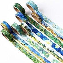 Van Gogh – ruban adhésif Washi pour peinture,