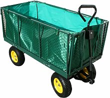 Varan Motors - TC1840 Chariot de jardin XXL,