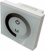 Variateur LED Tactile Blanc 12V/24V - SILAMP