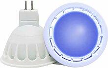 VARICART Ampoule LED de Couleur Bleu GU5.3 12V