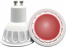 VARICART Ampoule LED de Couleur Rouge GU10 COB, 6W
