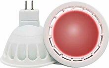 VARICART Ampoule LED de Couleur Rouge GU5.3 12V