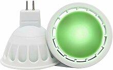 VARICART Ampoule LED de Couleur Verte GU5.3 12V
