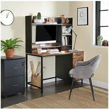 Vasagle bureau, table, avec étagères de