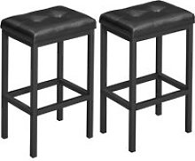 Vasagle chaises de bar, lot de 2, tabourets,
