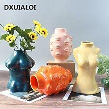 Vase à fleurs en céramique pour femme,