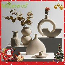 Vase à fleurs séchées en céramique, nouveau,