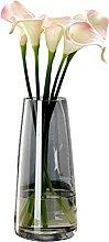 Vase Cylindrique Droit 26 Cm Flora Vase Verre en
