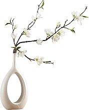 Vase d'art Moderne en céramique Vasen Déco,