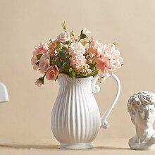 Vase de bureau créatif Style campagnard, Vintage,