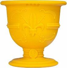 Vase design POT OF LOVE - Jaune - Extérieur -