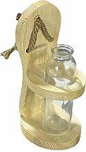 Vase en verre hydroponique suspendu planteur potts