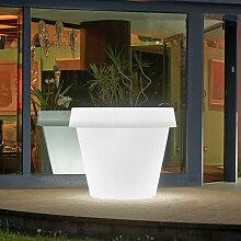 Vase lumineux et design pour grandes plantes Gio