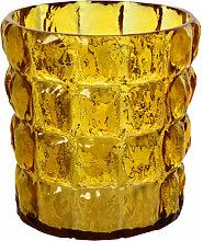Vase MATELASSÉ de Kartell, Ambre
