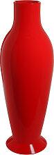 Vase MISSES FLOWER POWER de Kartell, Rouge