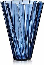 Vase SHANGHAI de Kartell, Bleu