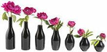 Vase Vase des 7 nuits lot de 7 - Tsé-Tsé noir en